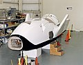 The First X-38 Technology Demonstrator (V-131) Shown with Modifications to the Rear to Conform More DVIDS689158.jpg