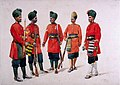 The Former 'Hyderabad Contingent' Infantry, 1910.jpg
