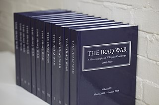 <i>The Iraq War: A Historiography of Wikipedia Changelogs</i>