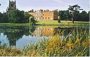 Staunton Harold - Image: The Lake at Staunton Harold Hall