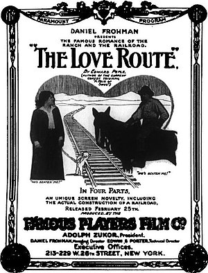 The Love Route - Advertisement
