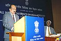 The Minister of State of Agriculture, Consumer Affairs, Food & Public Distribution, Prof. K.V. Thomas addressing the All India Legal Metrology Conference, in New Delhi on February 24, 2010.jpg