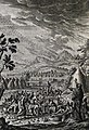 The Phillip Medhurst Picture Torah 392. Quails in the wilderness. Exodus cap 16 v 13. Corvinus.jpg