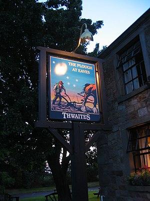 Thwaites Brewery - The Plough at Eaves, a Thwaites pub.