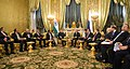 The Prime Minister, Shri Narendra Modi and the President of Russian Federation, Mr. Vladimir Putin begin the 16th Annual Summit with a restricted meeting, in Kremlin, Russia on December 24, 2015 (1).jpg