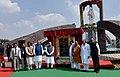 The Prime Minister, Shri Narendra Modi unveils the statue of Pt. Deendayal Upadhyay, at Naya Raipur, Chhattisgarh (1).jpg