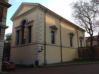 Queen's Chapel - Image: The Queen's Chapel from Marlborough House