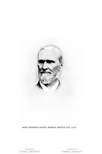 Francis McNeece Whittle - Image: The Rt. Rev. Francis Mc Neece Whittle