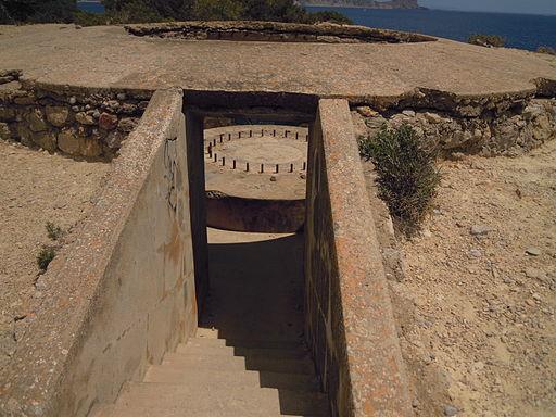 The Sa Caleta Coastal Battery, Ibiza 25 June 2013 (2)