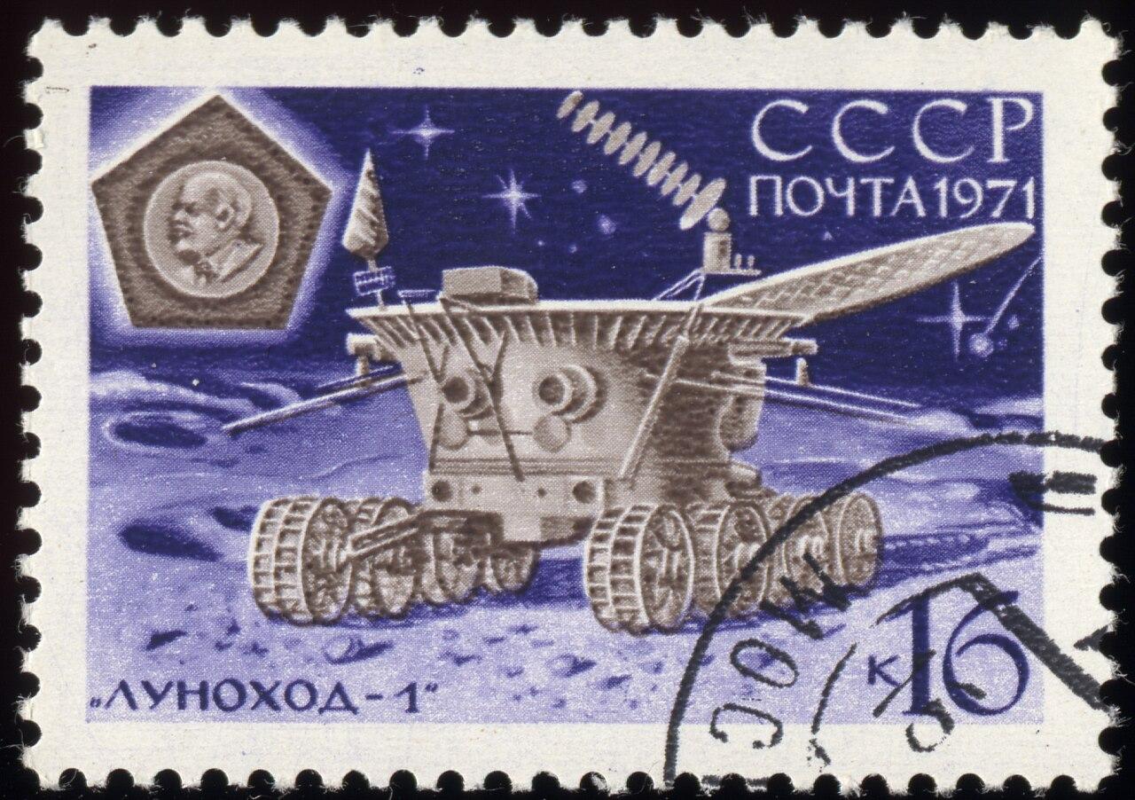 Soviet Lunokhod 1 - Pics about space