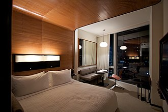 The Standard, High Line - Room in the hotel.