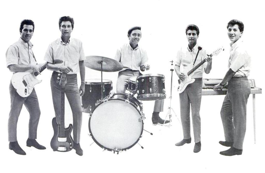 The Sunrays in 1965