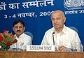 The Union Power Minister, Shri Sushilkumar Shinde addressing at the Economic Editors' Conference-2009, organised by the Press Information Bureau, in New Delhi on November 04, 2009 (2).jpg