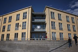 University of Skövde - The University of Skövde, Building G