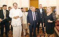The Vice President, Shri M. Venkaiah Naidu and the President of Malta, Ms. Marie-Louise Coleiro Preca visiting the Exhibition Majlis, in Valletta, Malta.JPG