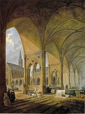The cloister of the English Augustinian nuns Paris.jpg