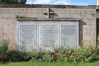Home baronets - The grave of the Home baronets, Grange Cemetery, Edinburgh