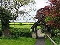 The lychgate at St. Nicholas, Silton - geograph.org.uk - 170109.jpg