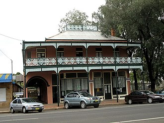 Bourke, New South Wales - The old Towers Drug Company Building - built 1889-90