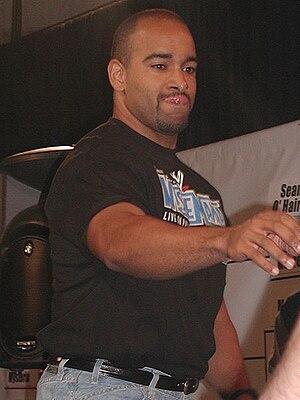 Jonathan Coachman - Coachman at WWE Fan Axxess in March 2003