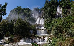 Thi Lo Su Waterfall - Thi Lo Su waterfall