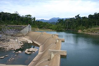 Dams and reservoirs in Laos