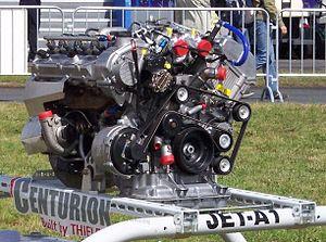 Thielert Centurion - A Centurion 4.0 on display