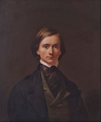 Thomas Buchanan Read - Self-portrait by Read, c. 1860.