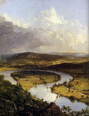 Thomas Cole - View from Mount Holyoke, Northam...