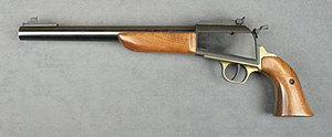 Thompson/Center Arms - Thompson Center Scout Black Powder Muzzleloader Pistol chambered in .54.
