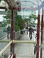 Through the bus stop, Wellington Street, Leeds - geograph.org.uk - 181980.jpg