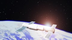 Fitxer:Tiangong-spacelabmod-computergraphics-orbit2011.ogv