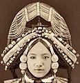Tibetan Lhacham, Tibet (c1879) Sarat Chandra Das (RESTORED) (4119301758) (cropped).jpg
