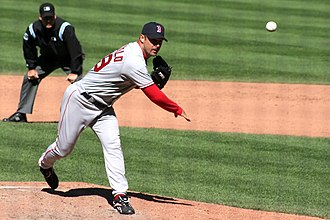 Tim Wakefield - Wakefield pitching for the Red Sox in 2006