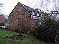 Timber-framed house beside Greyfriars Bridge - geograph.org.uk - 1725939.jpg