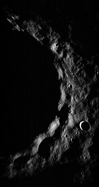 Timocharis crater terminator AS15-P-9423
