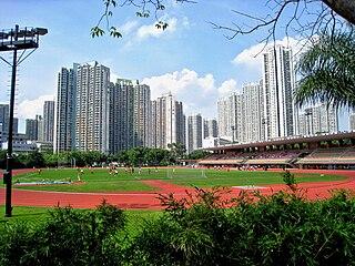 Tin Shui Wai Place in Yuen Long District, Hong Kong