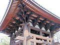 Todai-ji Syourou Bell tower National Treasure 国宝東大寺鐘楼09.JPG