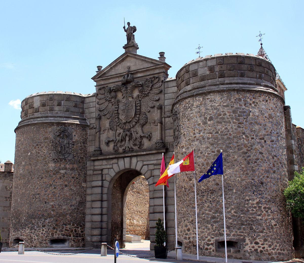 Puerta nueva de bisagra wikipedia la enciclopedia libre for Shoko puerta de toledo