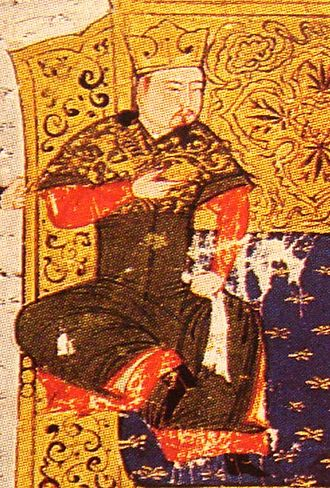 Tolui - Painting of Tolui Khan by Rashid-al-Din Hamadani, early 14th century.