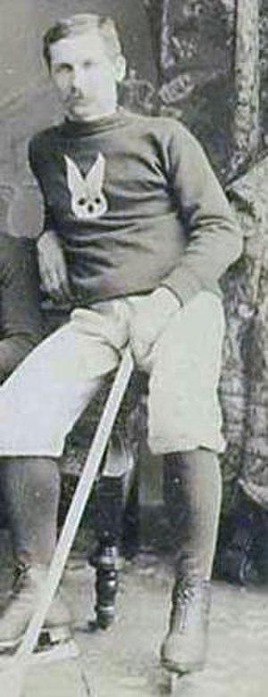 Tom Paton (ice hockey) - Paton in 1888