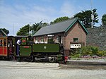 Tom Rolt at Tywyn Wharf