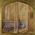 Tomb of Emperor Napoleon III at Chislehurst dated 1879 RCIN 450639.jpg