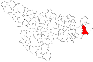 Tomești, Timiș Commune in Timiș, Romania
