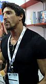 Tommy Gunn at the Adam & Eve Booth at the AEE Show.jpg