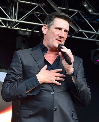 Tony Hadley - Hadley performing in June 2014