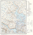 Topographic map of Norway, D35 aust Rauland, 1960.jpg
