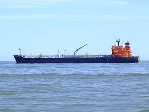 Torm Ragnhild - IMO 9290579 - Callsign OYCN2 leaving Port of Rotterdam, Holland 08-Jul-2007.jpg
