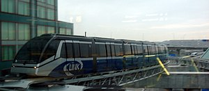 Cable Liner - The Link train at the Toronto Pearson Airport