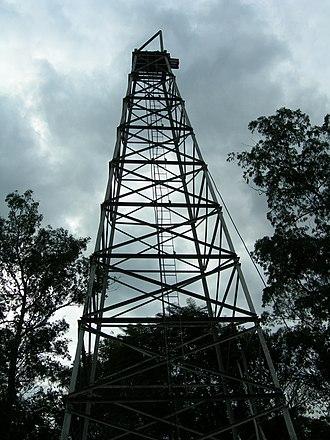 Águas de São Pedro - The Engineer Ângelo Balloni Oil Tower is a landmark of the city's history